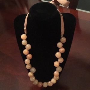 J. Crew Glass Bead Necklace